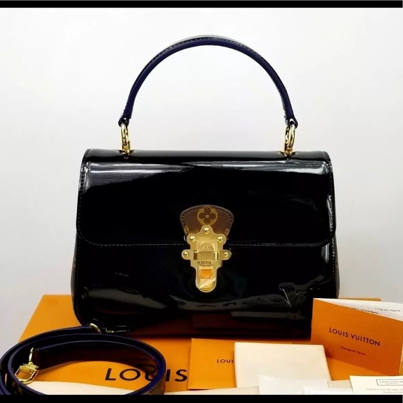Louis Vuitton Bags   Rare Limited Lv Cherrywood Patent Leather ... ae8b308b3c